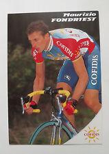Maurizio Fondriest Cofidis Team Card