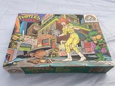 Original Vintage TMNT Teenage Mutant Ninja Turtles APRIL Puzzle MIB Sealed 1987