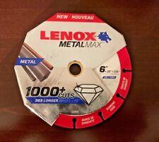 Lenox Metal Max 6 Saw Blade 6 Blades New
