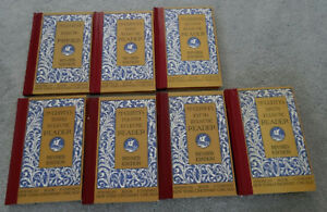 Set of 7 McGuffey's Eclectic Readers Primer Through Sixth Reader