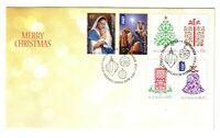 "2013 FDC Australia. Christmas. ""Decorations"" Pict.FDI  ""MERRYLANDS"""