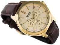 MTP-V300GL-9A Gold Men's Watches Genuine Casio Brand-New