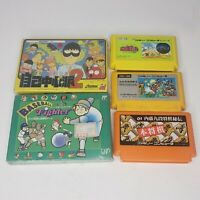 Famicom Games Lot Of 5!  2 Are Sealed