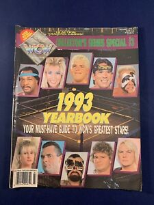WCW Magazine Collectors Series #3 Yearbook Sting Dragon Rhodes Stone Cold Sleeve
