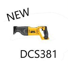 Dewalt DCS381 20 Volt MAX SawZall  Reciprocating Saw Model # DCS381 NEW