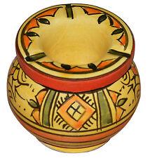 Moroccan Small Ceramic Ashtray Outdoor Smokeless Cigar Patio Garden Ashtrays