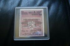 AC Milan v Benfica 1963 European Cup Final Ticket/Coaster