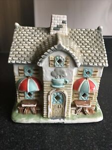 Partylite Coffee Shop Tealight House