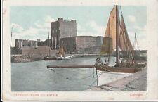 a northern ireland old postcard ulster irish carrickfergus antrim