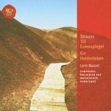 Strauss till Eulenspiegel/una vita eroi Lorin Maazel Andreas röhn NUOVO