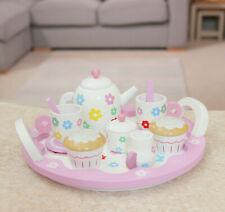 Indigo Jamm Wooden Flower Tea Set pretend play teddy bear picnic set