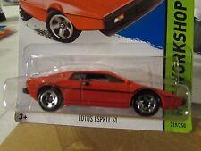 Hot Wheels Lotus Esprit S1 HW Workshop Red