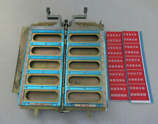 Seeburg 3W100 Wallbox Page Assembly Title Strip Holder Pages