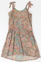 O'Neill Girls Print Tank Dress Multi M New