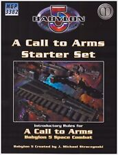 BABYLON 5: A CALL TO ARMS Starter Set - Space Combat - Introductory Rules Book
