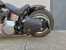 EAGLE BLACK Seitentasche Schwinge links Tasche Harley Davidson Fatboy Heritage