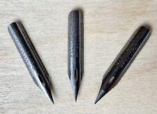 3 Vintage Esterbrook A1 Professional Pen Extra Fine Flex Dip Nibs