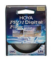 Nuevo Genuino HOYA 55 mm UV PRO1 Digital Multi recubierto de filtro de vidrio