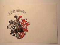 Münster - VDSt - Verein Deutscher Studenten - Wappen / Studentika