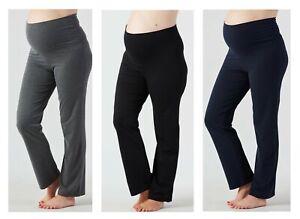 Mothercare Maternity Yoga Pants Joggers Black Grey Navy Gym Pregnancy Bottoms