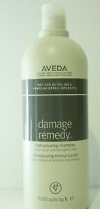Aveda Damage Remedy Restructuring Shampoo 33.8 oz LITER 🌿 FAST FREE SHIPPING 🌿