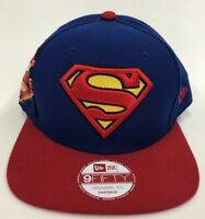 New Era 100% authentic Superman DC Comic Blue And Red 9fifty SnapBack rare new