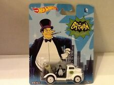 Hot Wheels 2015 Pop Culture DC Batman Classic TV Series PENGUIN '49 FORD COE nip