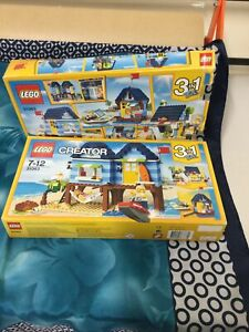 2 Boxes of Lego Creator 31063-opened-not checked-both may be incomplete