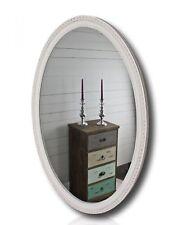 miroir blanc ancien 100x70cm bois NEUF MURAL BAROQUE de sale Bain Couloir