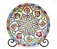 "Moroccan Design Serving Plate Wall Decor 12"""