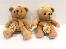 Cherished Teddies With Heart of Gold Bean Bag Plush 7'' Enesco 1998 NEW