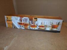 Libbey Craft Spirits Assorted Drinkware Glasses, Set of 6 ~