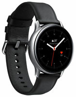 Verizon Silver Samsung Galaxy Watch Active 2 SM-R825 44mm Stainless Steel