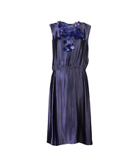 Lanvin Vault Purple Vintage Dress