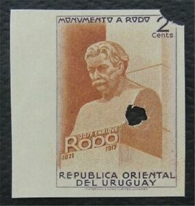 nystamps Uruguay Stamp Imperf Proof Only 100 Exist.    O15x1300