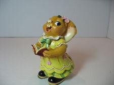 NEW Pendelfin Katherine choir girl singer yellow dress Figurine  Bunny w/ Box