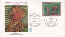 Enveloppe 1er jour FDC n°982 - 1976 Carzou Princesse lointaine Oeuvre Originale