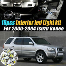 10Pc Super White Car Interior Led Light Kit Pack for 2000-2004 Isuzu Rodeo (Fits: Isuzu Rodeo)