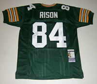 PACKERS Andre Rison signed custom green jersey #84 JSA COA AUTO Autographed
