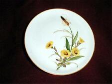 Rosenthal German Yellow Buttercup Pin Dish/Wine Bottle Coaster/Plate (loc-ok-br)