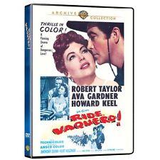 RIDE VAQUERO (1953 Robert Taylor) -  Region Free DVD - Sealed