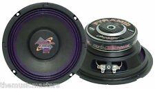 """Single 6.5"""" inch 8 ohm Top Quality Woofer Home Speaker Replacement or Custom Box"""