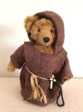 Unknown Teddy Bear Artist - Mohair Monk Teddy Bear