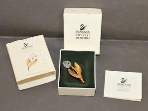 Swarovski Crystal Memories Accessories Tulip Brooch  - Thames Hospice