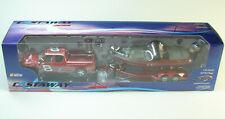 2003 Action Castaway Dale Earnhardt Jr 8 Red 1/43 Nitro Boat Truck Set NASCAR
