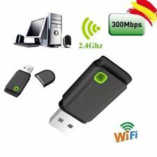 USB 300MBPS WIFI Wireless Adapters PC Laptop Dongle Windows 10 8 7XP Vistas FR