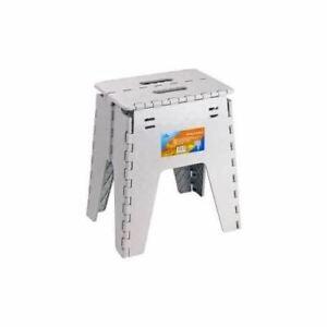New Plastic Multi Purpose Folding Step Stool Home Kitchen Easy Storage Foldable