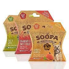 Soopa Healthy Bites - Natural Healthy Dog Bites Kale/Cranberry/Carrot