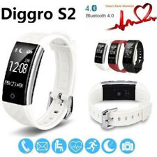 Bluetooth Diggro S2 Smart Bracelet Heart Rate Watch Sports Fitness Tracker IP67