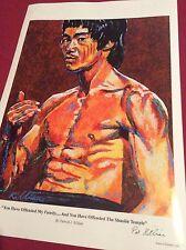 Bruce Lee  Limited Edition Art Print By Patrick J Killian